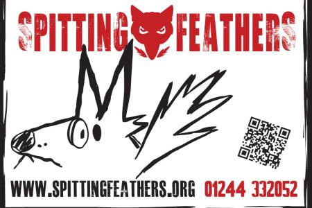 Spitting Feathers